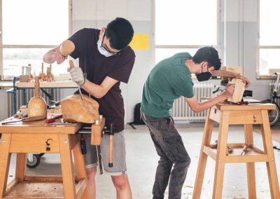 Atelier 1318, Ferienkurs, Bildhauerei