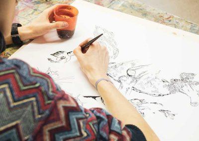 Atelier 1318, Offenes Atelier Zeichnen