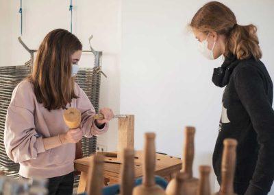 Atelier 1318, Offenes Atelier Bildhauerei