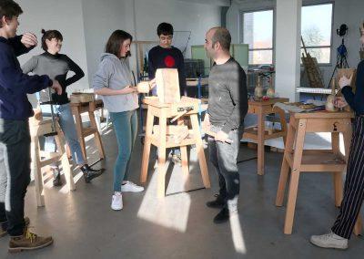 Atelier 1318, Bildhauerei mit Emanuel