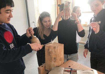 Atelier 1318, Bildhauerei